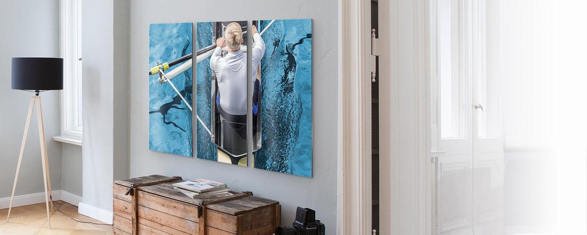 3 teilige bilder vom foto oder der galerie bei myposter. Black Bedroom Furniture Sets. Home Design Ideas