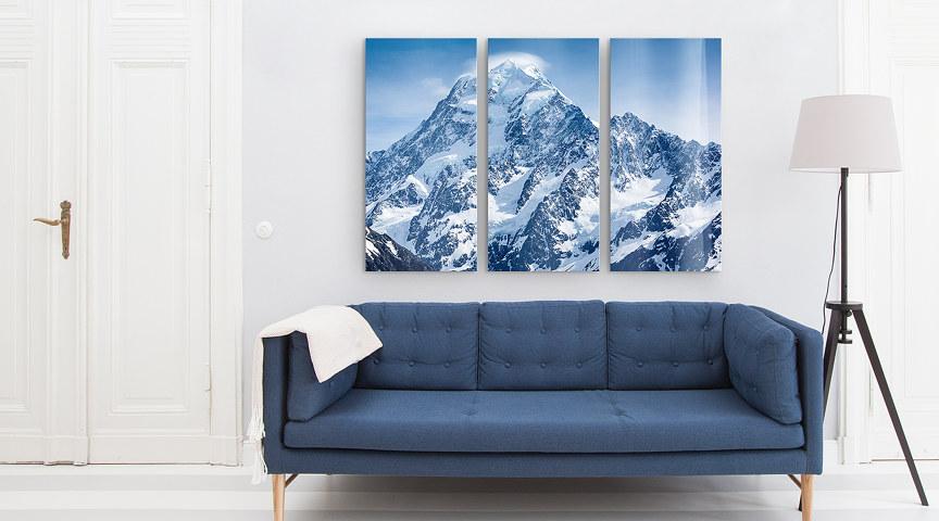 3teilige Bilder vom Foto oder der Galerie bei myposter drucken