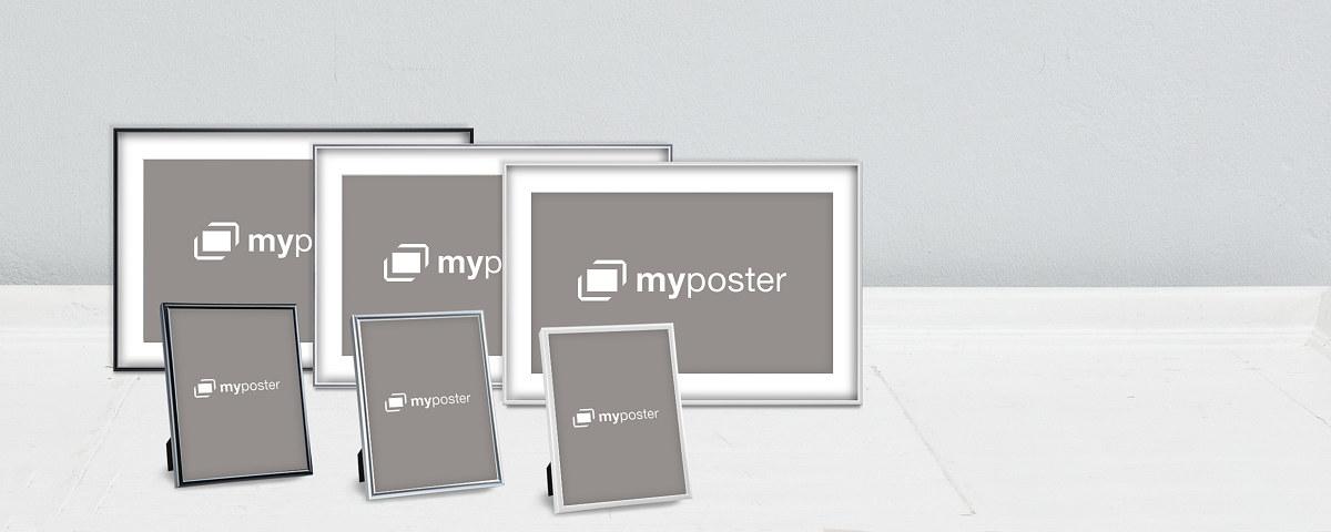 cadres poser au format 18x13 cm myposter. Black Bedroom Furniture Sets. Home Design Ideas