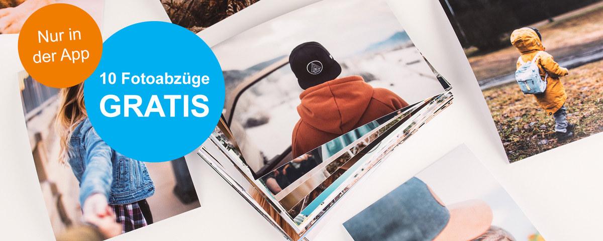 Foto-Abzüge in verschiedenen Formaten - schnell per App bestellt