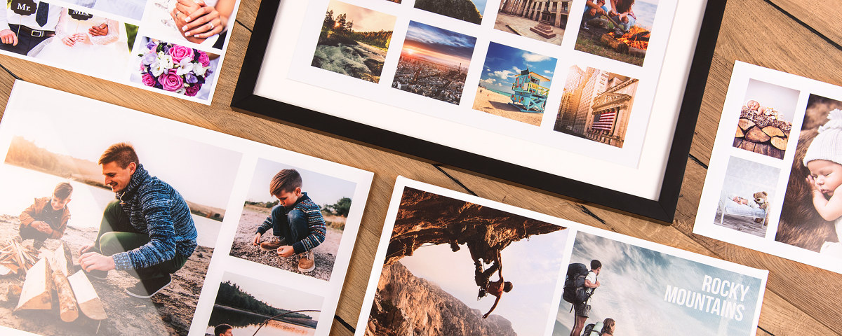 collage selbst gestalten fotocollage mit und ohne vorlage. Black Bedroom Furniture Sets. Home Design Ideas