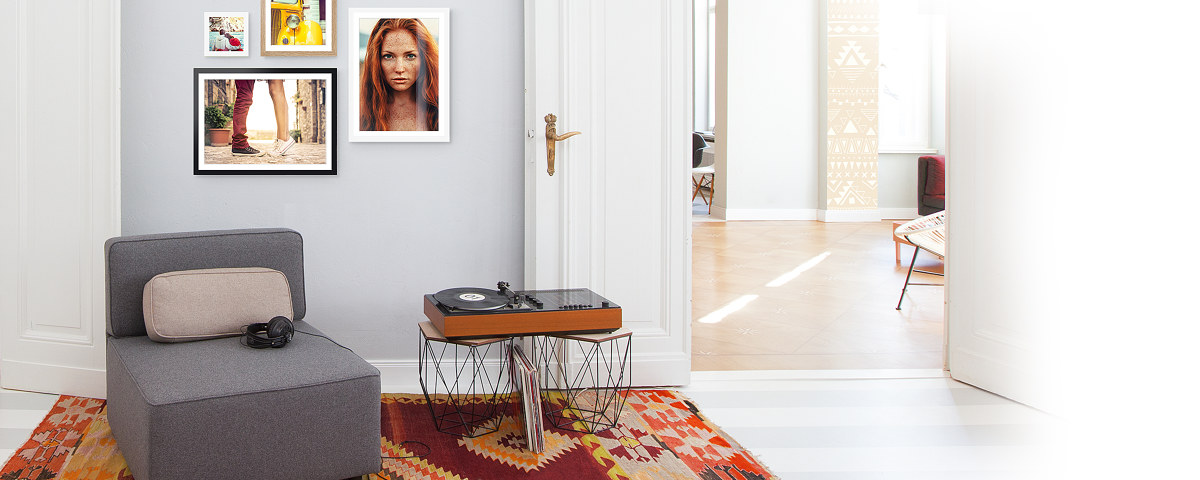 Frischer Schwung für Möbel & Wände! - myposter