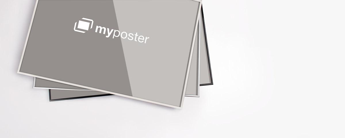 Kunststoffrahmen in vielen Formaten   myposter