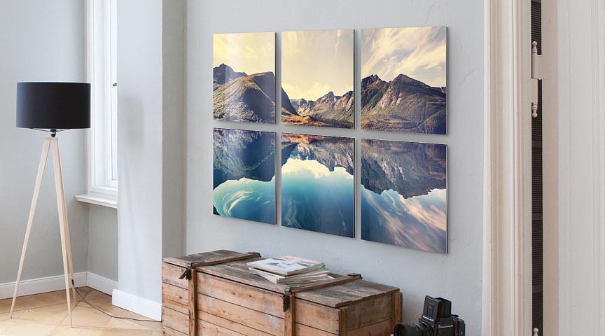 mehrteilige bilder nach maß - vom foto oder motiv | myposter, Wohnzimmer dekoo