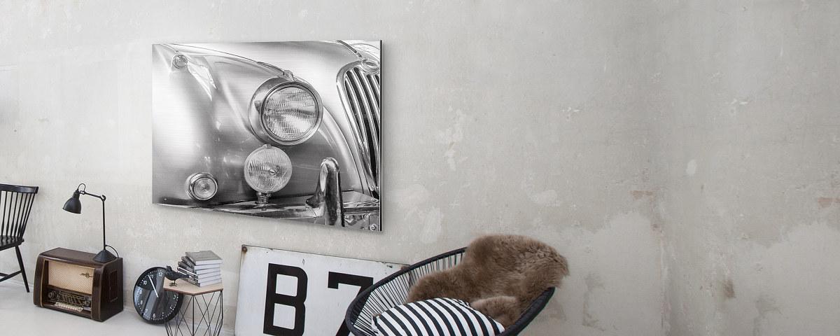 ihr foto auf geb rstetem alu mit metall effekt myposter. Black Bedroom Furniture Sets. Home Design Ideas