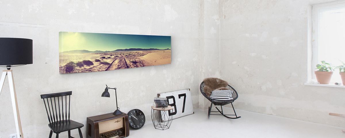 ihr foto als panorama leinwand online drucken myposter. Black Bedroom Furniture Sets. Home Design Ideas