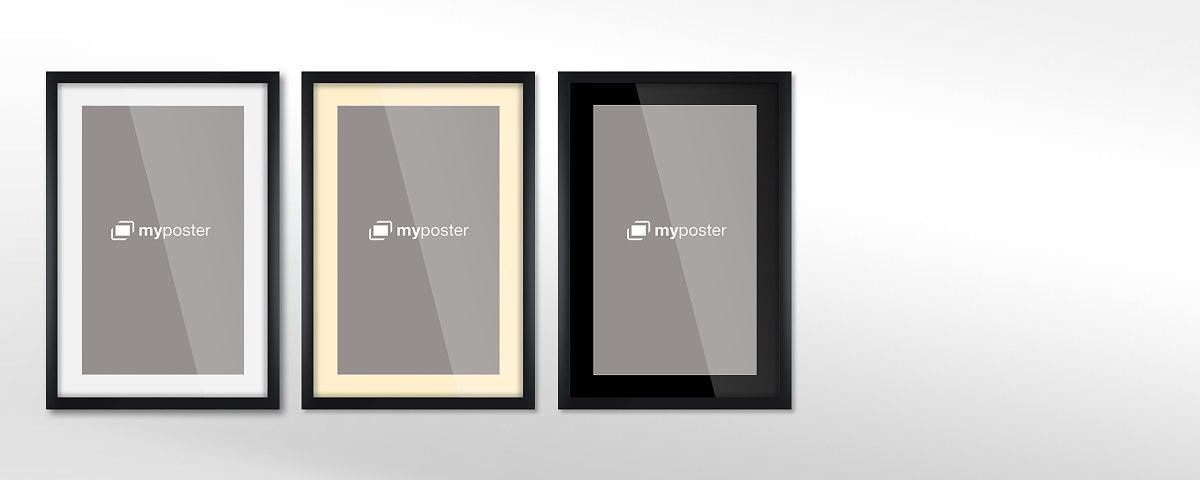 bilderrahmen mit passepartout online bei myposter bestellen. Black Bedroom Furniture Sets. Home Design Ideas