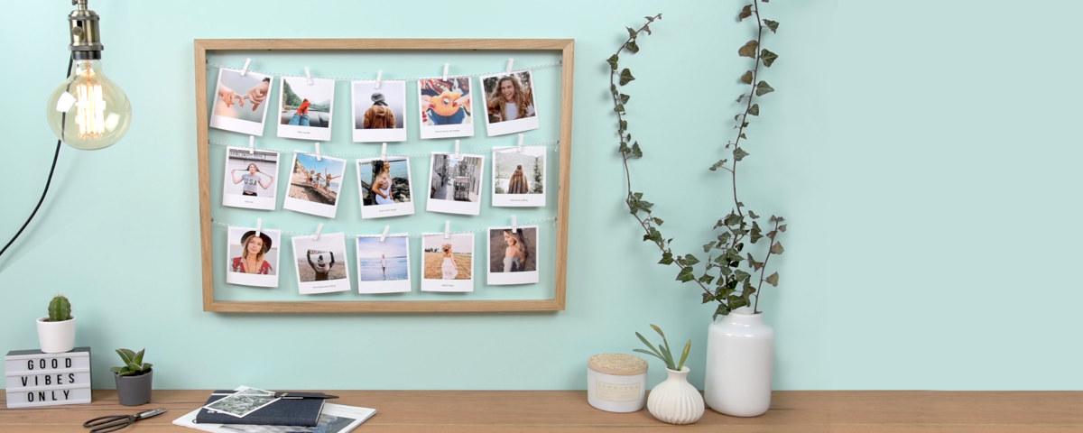 créez et imprimez votre pêlemêle photo