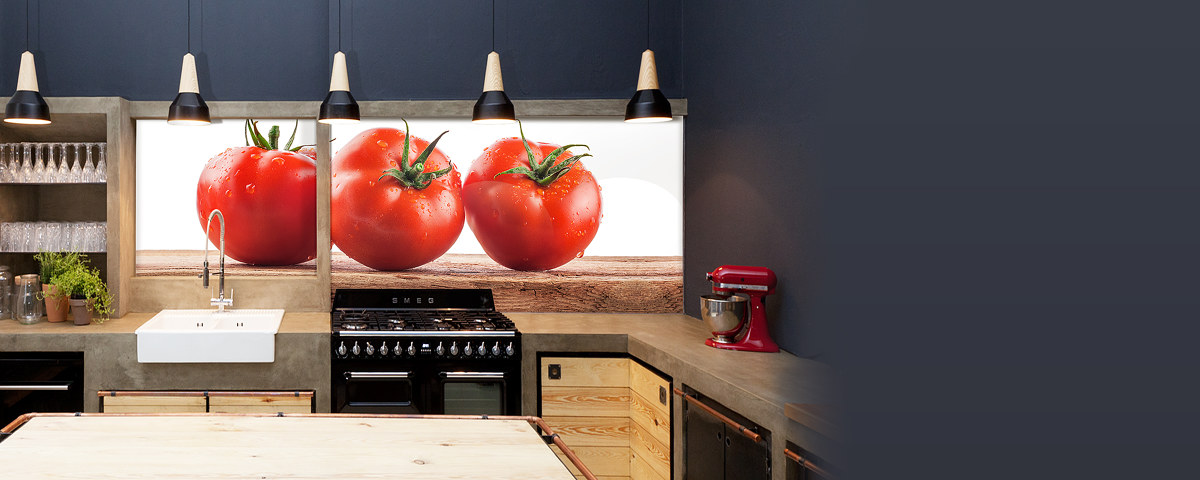 Extrem Küchenrückwand mit Ihrem Motiv | Einfach online bestellen! DD87