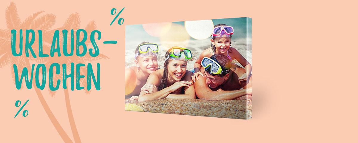 Bis zu -40% auf Leinwanddruck von myposter - Ihr Foto auf Leinwand