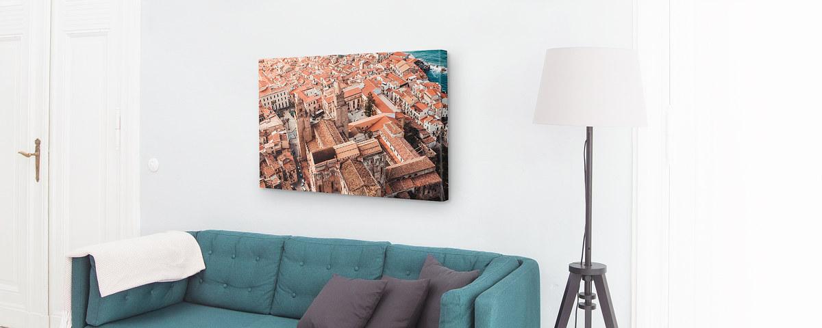 Glasbilder Wohnzimmer | Individuelle Wohnzimmer Bilder Passend Zur Einrichtung