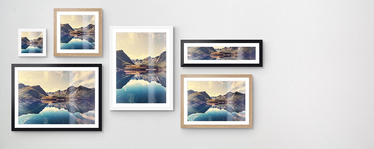 Stilvolle Rahmen mit Foto in großer Farbauswahl!