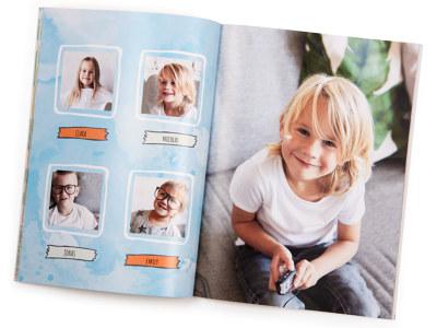 Album Photo Enfant Créez Un Livre Photo Enfant En Ligne Myposter