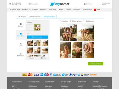 myposter collage maker kostenlose collagen online erstellen. Black Bedroom Furniture Sets. Home Design Ideas
