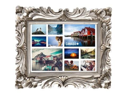 Noir Blanc Cadres Photo maison moderne Instagram cadres photo A1 A2 A3 A4 A5 A6