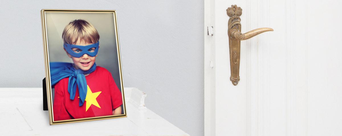 Fotorahmen in Gold für Ihre stilvollen Portraits