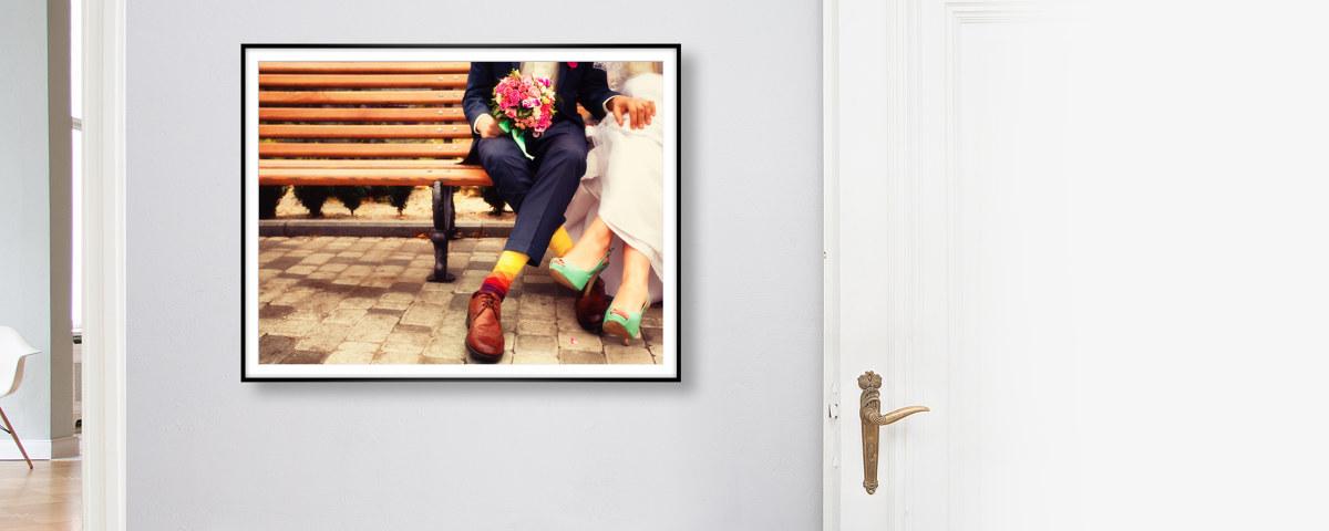 Stylische Alurahmen mit Foto jetzt bei myposter!