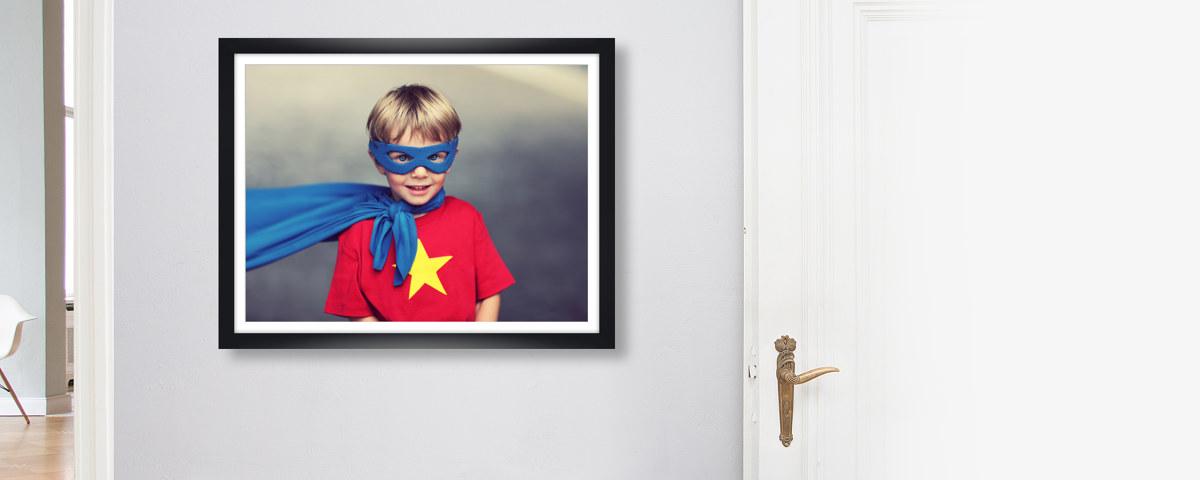 Bilderrahmen: Schwarz und aus Holz für Ihre Fotos