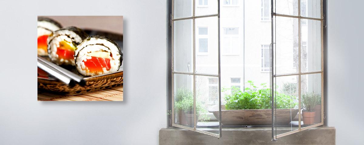 Dekorative sushi fotos f r die einrichtung im asia style for Asia einrichtung