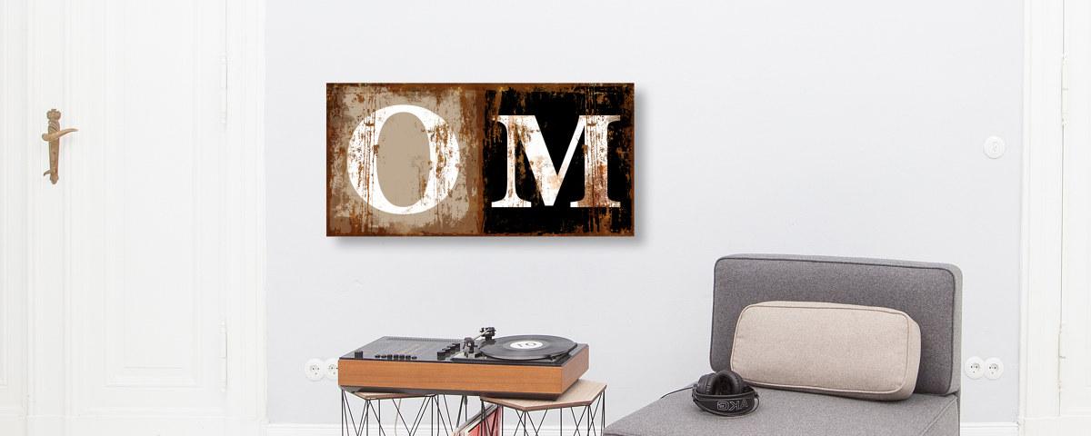 wandschmuck mit home motiv online gestalten und bestellen. Black Bedroom Furniture Sets. Home Design Ideas