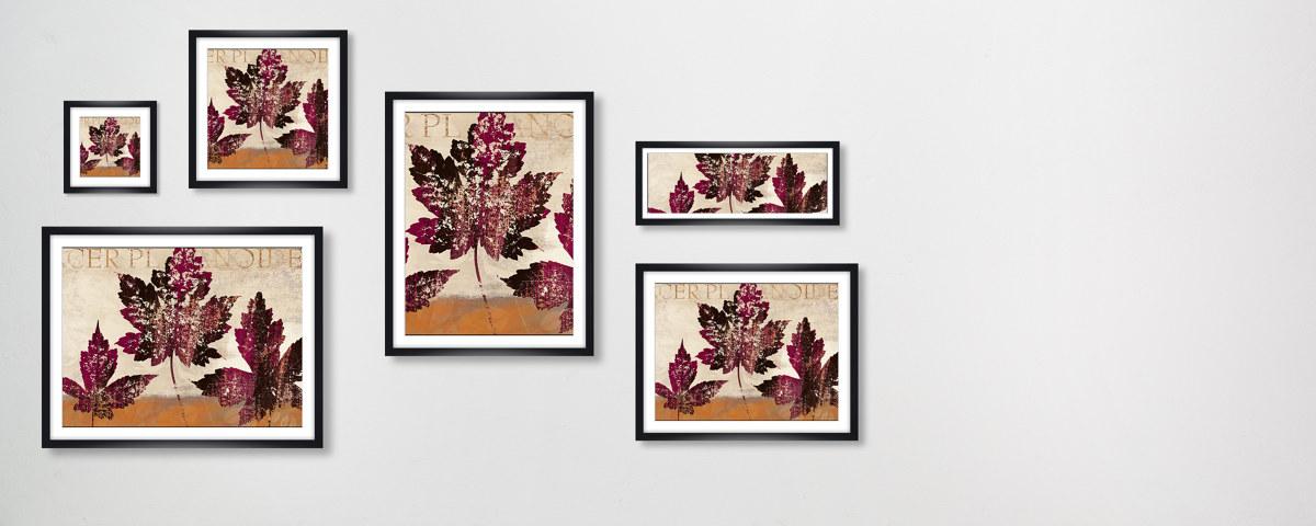 moderne ahorn bilder f r stilvolle wandgestaltung. Black Bedroom Furniture Sets. Home Design Ideas