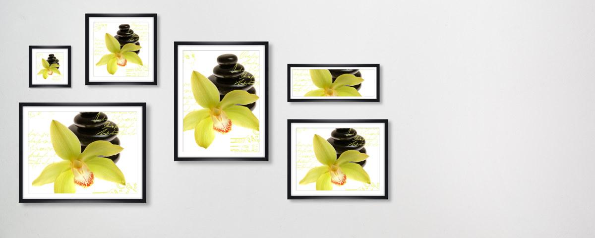 orchideen bilder f r wohnraum und wellnessbereich. Black Bedroom Furniture Sets. Home Design Ideas