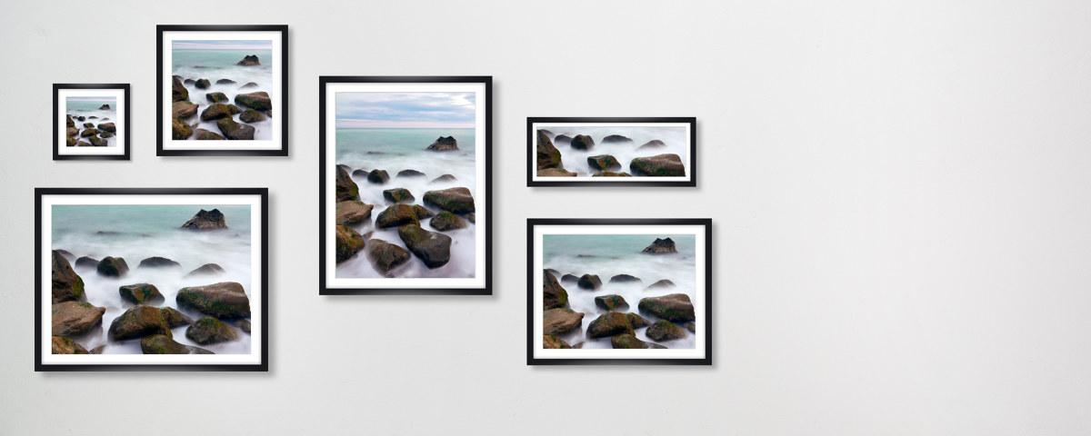 Steinebilder mit mysteri ser ausstrahlung - Steinbilder auf leinwand ...