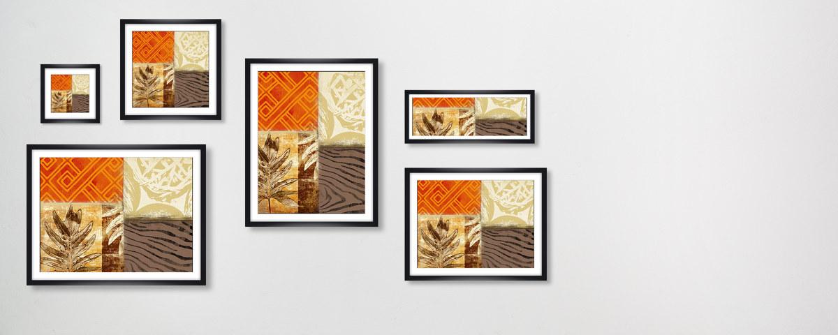sukkulenten bilder collage in modernem stil. Black Bedroom Furniture Sets. Home Design Ideas