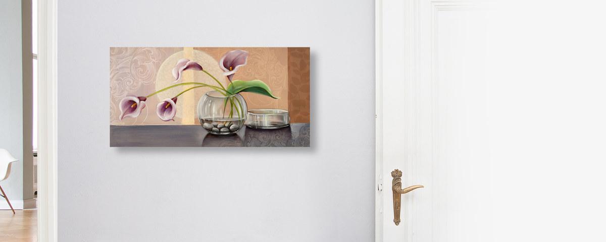 Elegante Callas Bilder für Wohn- und Esszimmer