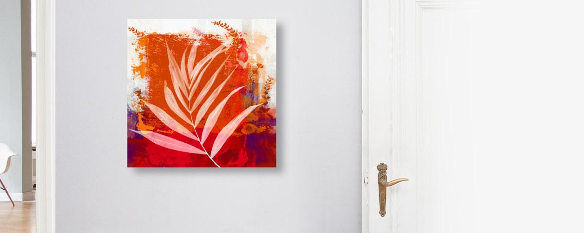 Stilvolles Herbstbild Gemalt Für Ihr Zuhause