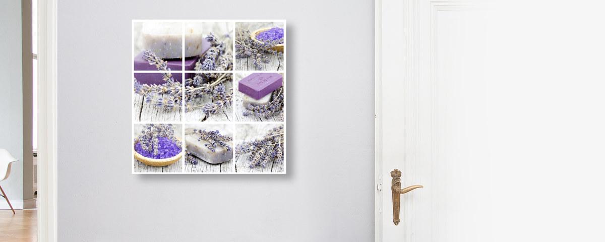 Zauberhafte Lavendelseifen - Jetzt Motiv bei myposter entdecken!