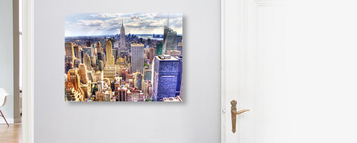 Manhattan-Skyline Poster nach ihren Vorstellungen bestellen!