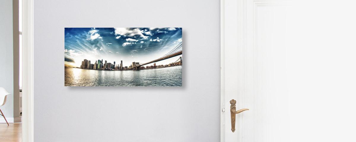 Beeindruckendes New-York-Panorama Poster
