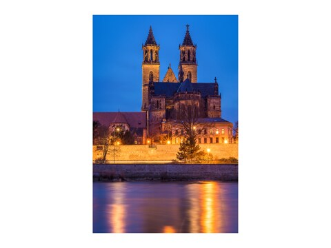 Abend in Magdeburg