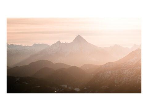 Alpen im Winterlicht
