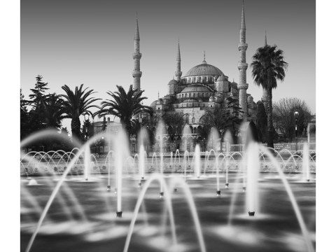 Blaue Moschee Sultanahmet Camii Istanbul Tuerkei