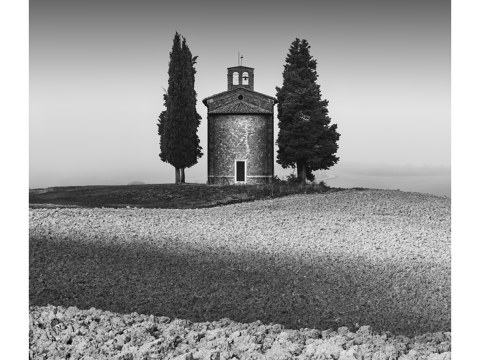 Capella della Madonna di Vitaleta - Toskana