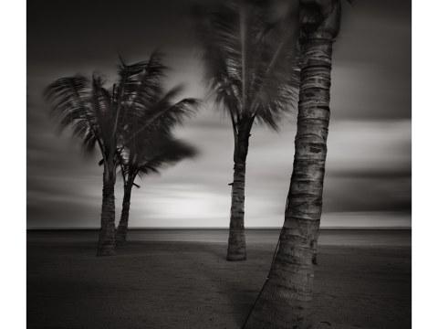 Cyclone over Mauritius