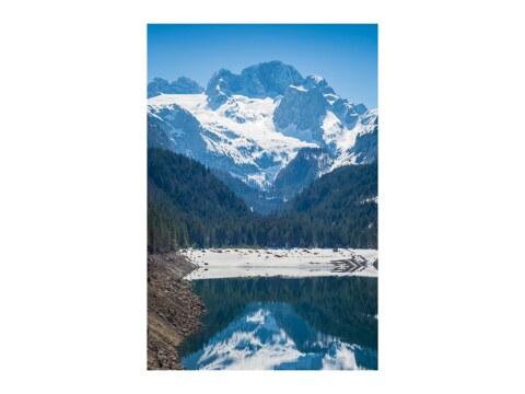 Dachstein mit Gletscher