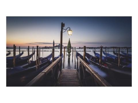 Das erste Licht Venedig Panorama