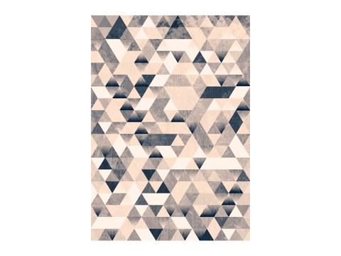 Dreiecke monochrom