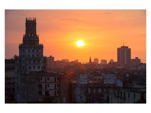 Sonnenuntergang in Havanna