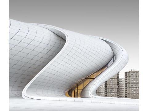 Heydar Aliyev Center Baku - Study 4