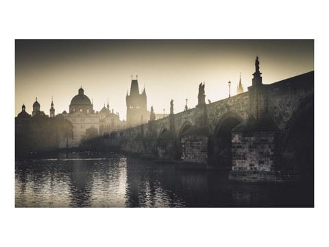 Karlsbruecken Panorama Prag