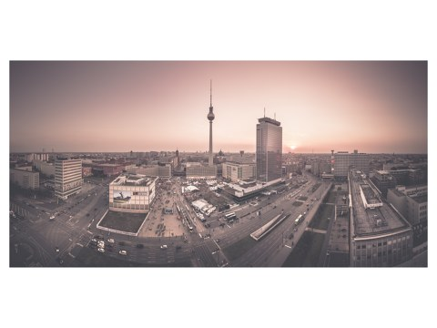 Berlin Panorama Skyline
