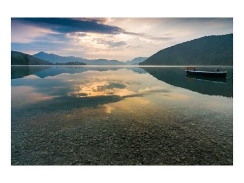 Sommermorgen am Walchensee