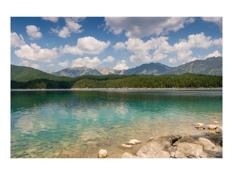 Sommertag am Eibsee