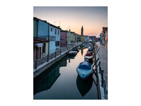 Sonnenaufgang auf Burano Venetien