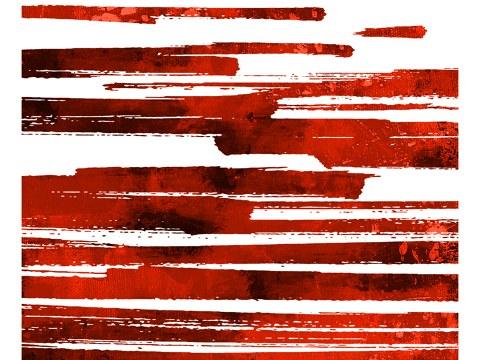 abstrakte Textur horizontal