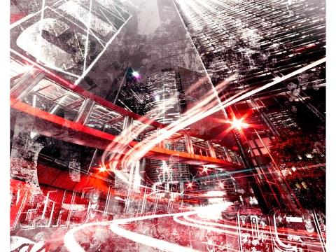 Stadt abstrakt